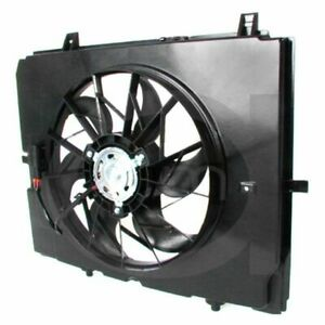 Engine Cooling Radiator Auxiliary Electric Fan Motor For Mercedes 1999 2002 E320