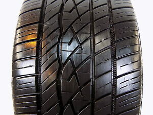 Used P225 40r18 92 Y 7 32nds Continental Controlcontact Sport A s
