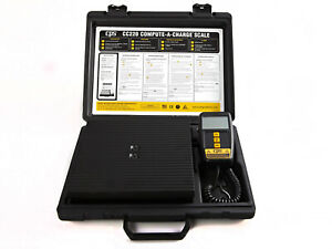 Cps Cc220 Refrigerant Charging Recovery Scale Up To 220 Lbs Capacity