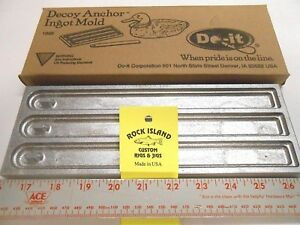 ROCK ISLAND SPORTS DO-IT STRAP DECOY ANCHOR MOLD COMBINED SHIPPING OFFER!!