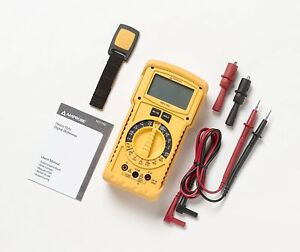 Amprobe Hd110c Heavy Duty Multimeter For Professional Electricians And Hv