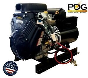 20 Kw Gas Powered Pdg Industrial Grade Generator With Briggs Stratton Vanguard