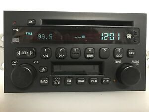 gm742 2004 2006 Buick Rendezvous Am Fm Radio Cd Cassette Player
