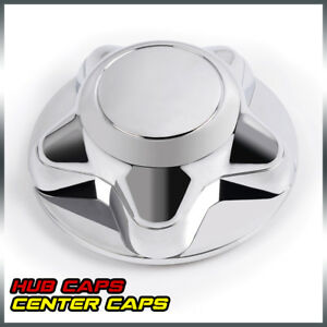 1pc 7 For 97 03 Ford F150 Expedition Chrome Wheel Hub Cover Center Caps Durable