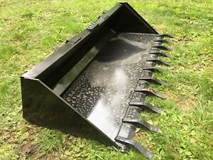 New Heavy Duty 84 Skid Steer Bucket Teeth 7 Fits Bobcat Cat Case Etc