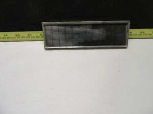 1963 Ford Galaxie Radio Delete Plate With Mounting Hardware Chrome For Xl
