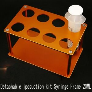 20ml Detachable Syringe Rack Stem Cells Liposuction Kit Syringe Placement Frame