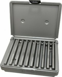 Fowler 20 Piece 6 Inch Long X 1 8 Inch Thick Alloy Steel Thin Parallel Set