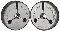 Gf Gage 1 4 28 Thread Double Ended Ring Thread Go No Go Gage Class 2a