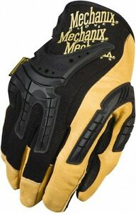 Mechanix Wear Size M 9 Leather tpr General Protection Work Gloves General
