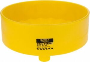 Eagle 7 Inch High X 18 Inch Diameter Polyethylene Drum Funnel 30 To 50 Gall