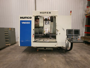 13179 Hurco Vmx 50 Cnc Vertical Machining Center 2002