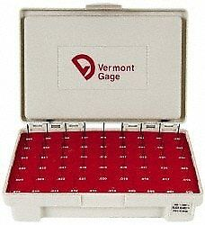 Vermont Gage 55 Piece 0 006 0 06 Inch Diameter Plug And Pin Gage Set Plus 0