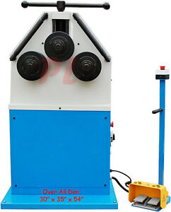 3hp Ring Band Roller Roll Roll Bender Bending Square Round Flat 2 75 Tube Pipe