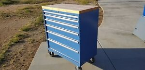 Lista Stanley Vidmar 6 Drawer Mobile Tool Cabinet Brand New