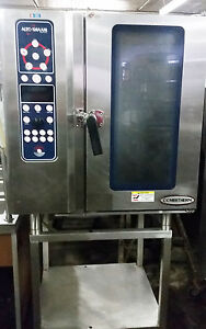 Altoshaam Combi Combination 440v Electric Steamer Convection Oven Model 10 10