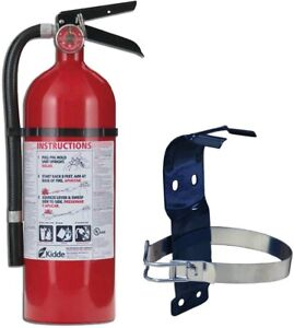 Fire Extinguisher Bundle With 5 Lb Mounting Bracket Ul Rated Common