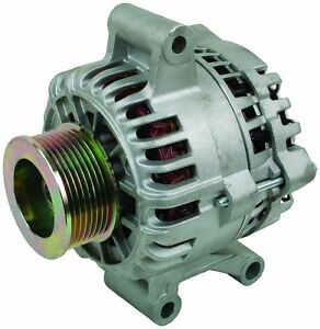200 Amp Ford F Pickup Alternator 99 01 7 3l Aux Unit New High Amp High Output Hd
