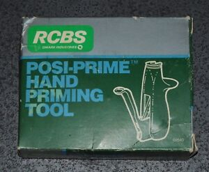 RCBS Posi-Prime Hand Priming Tool-(09540) NOS-discontinued