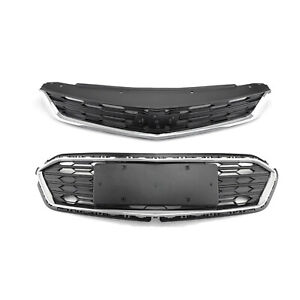 For Chevrolet Cruze 2016 2017 2018 Front Bumper Upper Grill Middle Lower Grille