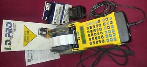 Brady Id Pro Label Maker For The Electrician Ibew Battery Cordless 2 Boxes Label