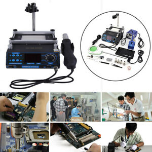 Aoyue 939d 853aa Soldering Iron Station Hot Air Preheating Station 110volts Oy