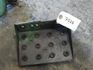 John Deere 3010 Gas Tractor Step Tag 7026