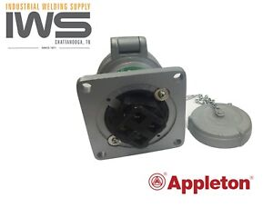 Appleton Adr6044 60amp Pin sleeve Receptacle 60a 4w4p Powertite New Unused 1ea