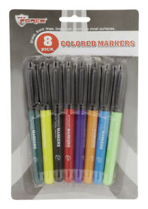 Diamond Visions Colored Markers Assorted Colors Carded 8 Pack Pack Of 48