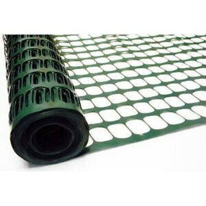 Tenax Snow guard Fence 4 H X 50 L High Density Polyethylene Green