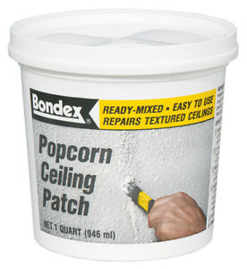 Bondex Ceiling Patch Popcorn 1 Qt Pack Of 6