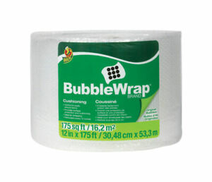 Duck Brand 12 In W X 175 Ft L Bubble Wrap
