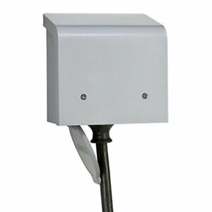 Reliance Controls 50 Amps 1 Space 1 Circuits 120 Volts Surface Power Inlet Box