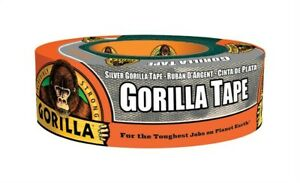 Gorilla Silver Tape 35yd Pack Of 6
