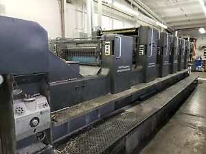 Heidelberg Sm 102fp H L With Tower Coater Year 1994