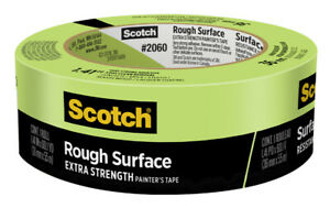 Scotch 2060 36ap Green Rough Surface Painters Tape 1 41 W In X 60 L Yd