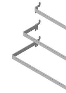 Lozier Perforated Crossbar Universal 48 In X 12 In D