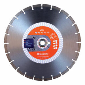 Husqvarna Vh5 12 In Dia For Wet dry Diamond Saw Blade