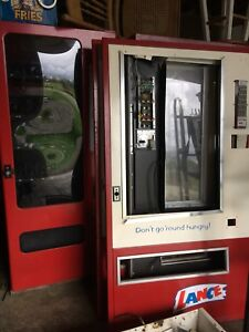 Lance And Antares Floor Model Vending Machines For Sale