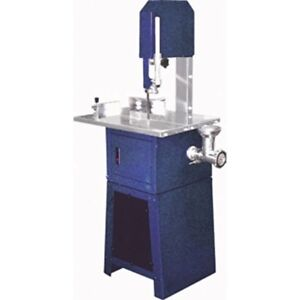 Meat Band Saw And Grinder Processor Sausage 80 Inch Blade Cutting