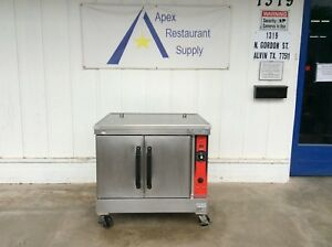 Vulcan hobart Convection Oven Natural Gas 115v W casters 3115