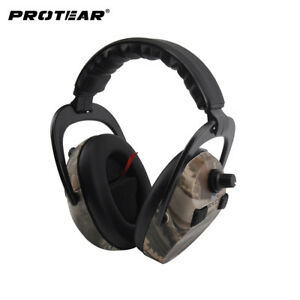 Protear Electronic Ear Protection Shooting Hunting Ear Muff Print Tactical