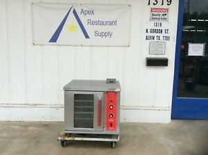 Hobart vulcan 120v Gc02d Half sized Gas Convection Oven 3117