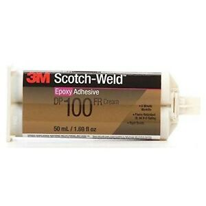 3m Scotch weld Dp100 Off white Two part Epoxy Adhesive