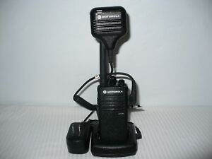 Refurbished Motorola Cp110m 2 way Radio 2 Watt 2 Ch Vhf Murs No License Needed