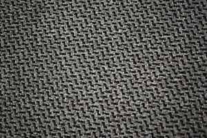 Vintage Gray Black Stitch Tweed Automotive Seat Cover Fabric Upholstery Auto 55