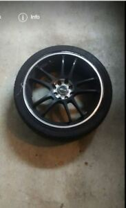 2 Msr Tires And Rims Low Profile 4 On 100 17 Inch