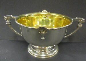 Solid Silver Hm Soup Tureen William Neale Son 1890 Birmingham 1076 Grams