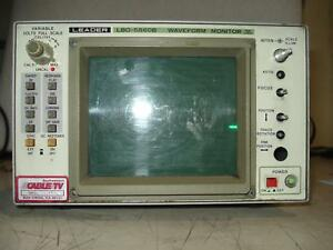 Leader Lbo 5860b Waveform Monitor T7246