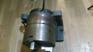 8 Horizontal Vertical Mount Rotary Table With 8 Pc Chuck